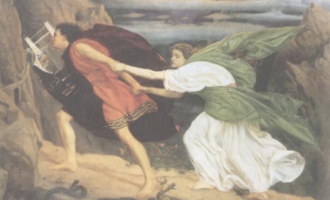 Eurydice و Orphée