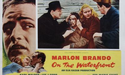 """""""على رصيف الميناء"""" (1954)"""