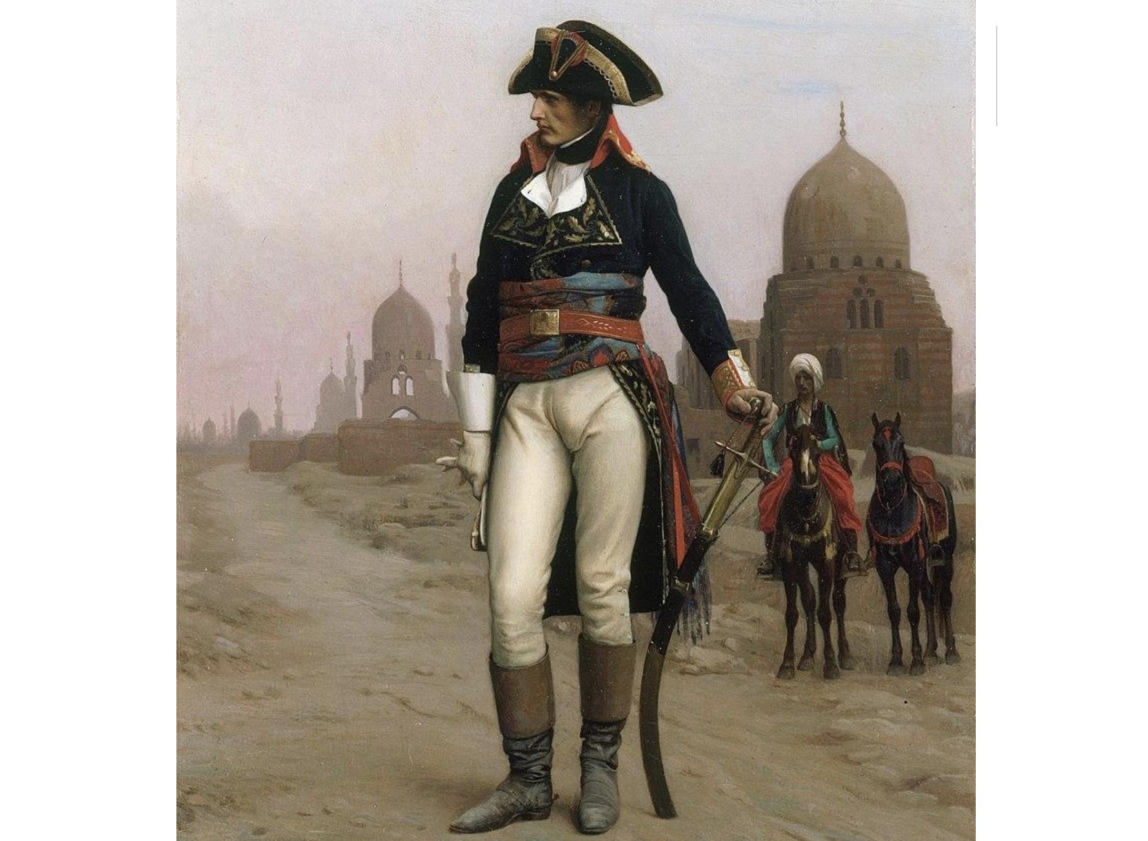 حملة نابليون وحروب أمريكا