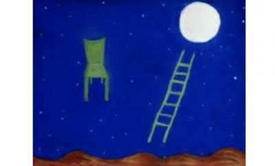 القمر يطلّ على نافذة إسراء