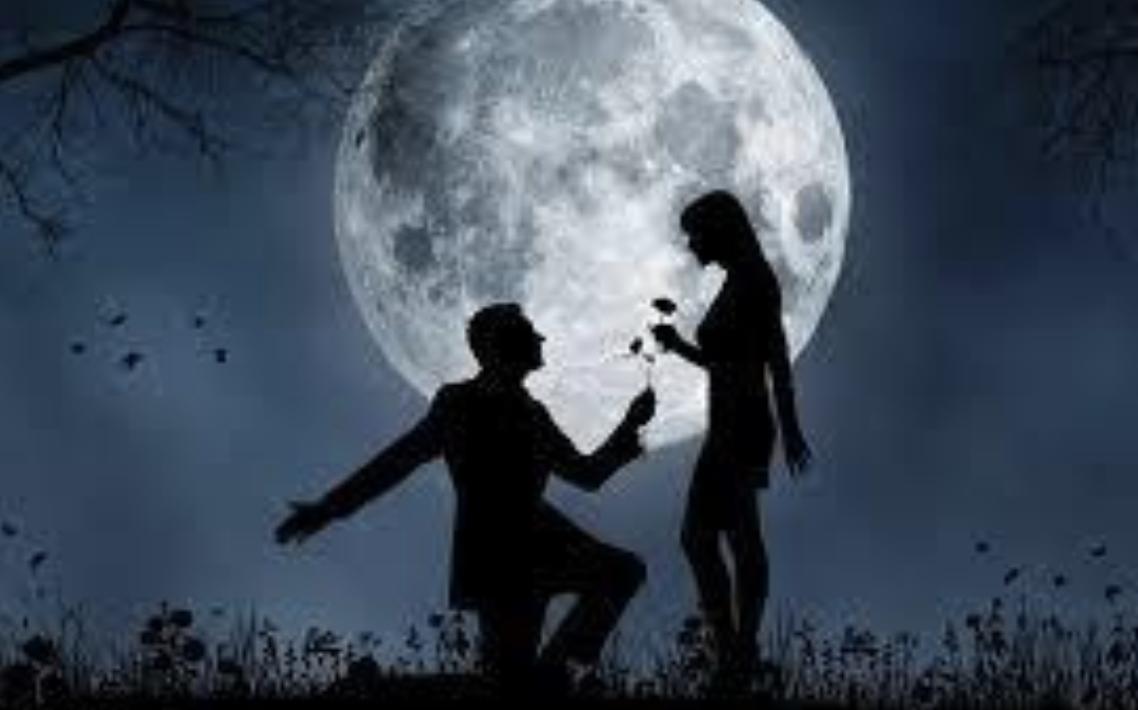 انا وقمري